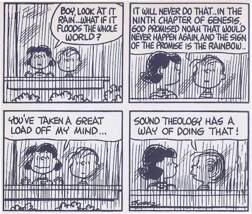 Peanuts Cartoon ~ Sound Theology